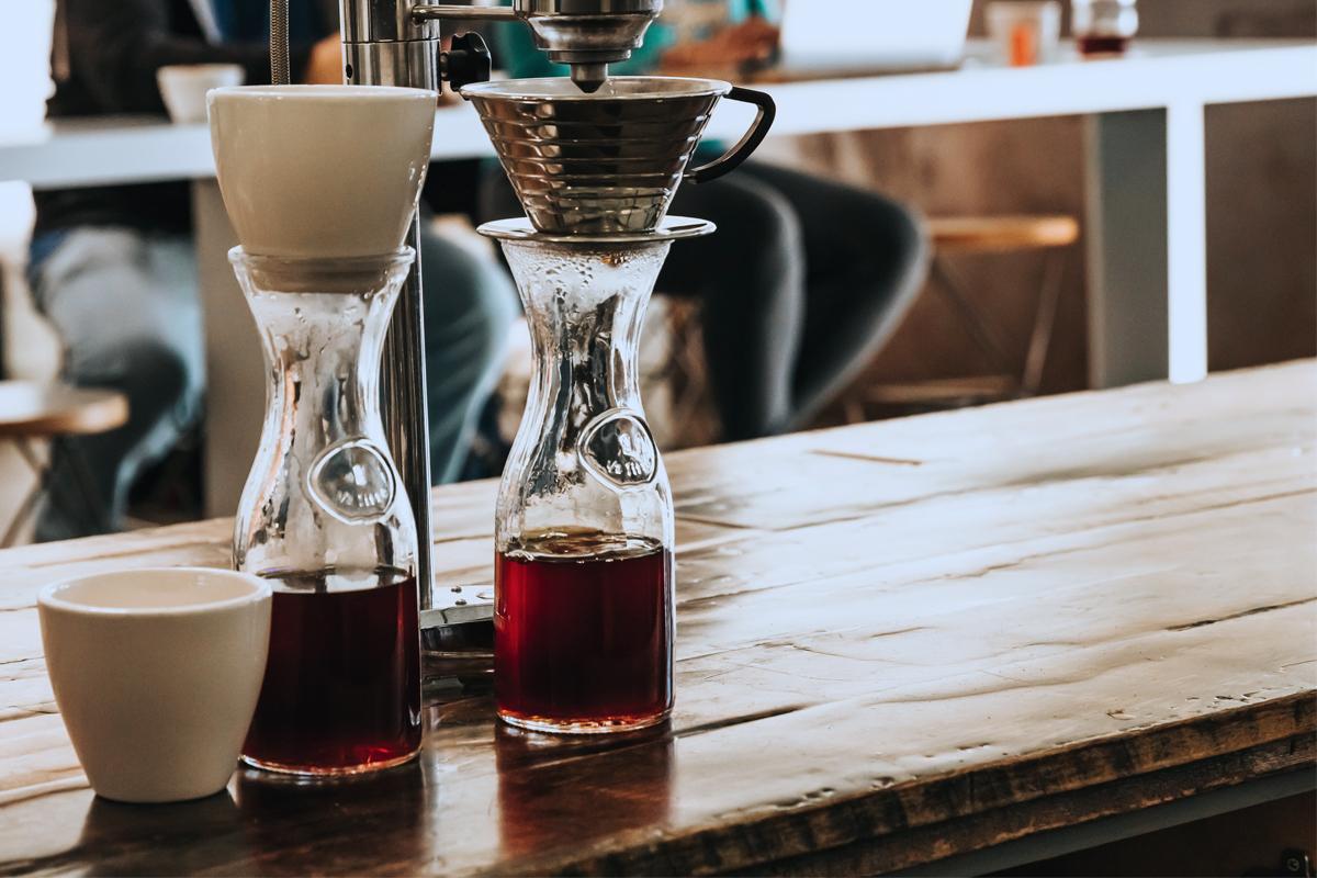 点滴式水出しコーヒー